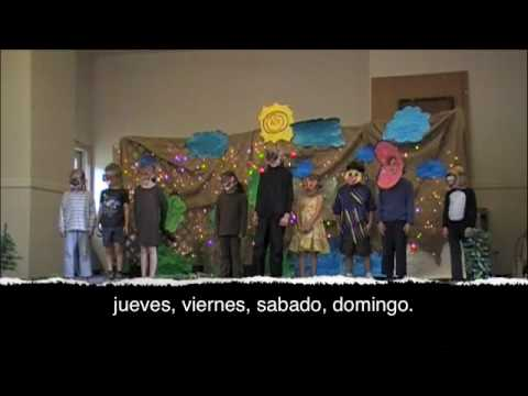 La semana: Spanish Days of the Week Song