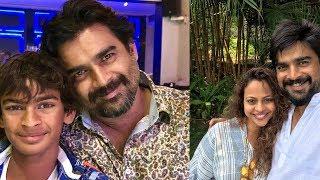 #SAVYASACHI Villain R. Madhavan Family Unseen Images - RAJSHRITELUGU