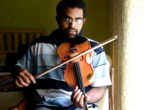 Lagan Lagi Tumse Mann ki Lagan in Violin by Subramoni Rengarajan
