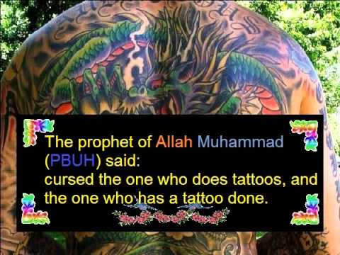Tattoos in Islam -  