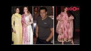 Jacqueline, Salman, Sonakshi & More At Aayush Sharma's Eid Party | Style Today - ZOOMDEKHO