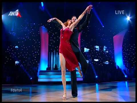Entertv: Το αισθησιακό tango της Κατερίνας Στικούδη στο Dancing!