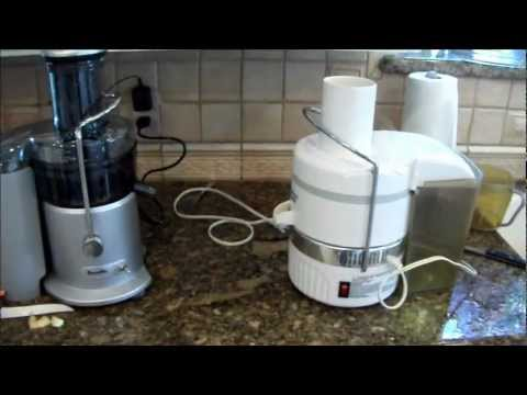 Juicer Face off Jack Lalanne vs. Breville