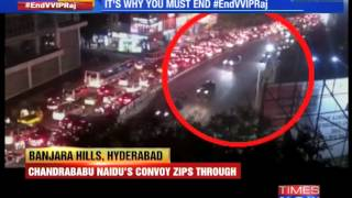 Hyderabad: 2 CMs bring a city to a halt - TIMESNOWONLINE