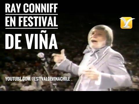 Carolina Mestrovic presenta a RAY CONNIFF en el Festival de Viña del Mar