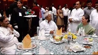 Sonia Gandhi holds Iftar, shares table with Sharad Yadav and Lalu - NDTV