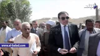 بالفيديو.. محافظ بني سويف يكثف جولاته الميدانية فى قرى المحافظة