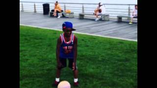Funny: Deron Williams Shoves Young Knicks Fan To The Ground