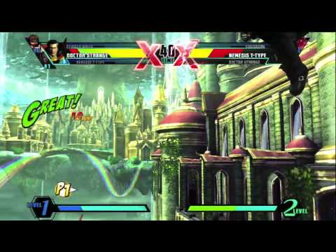 Ultimate Marvel vs Capcom 3 Gamescom Character Breakdown by Seth Killian