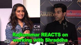"Rajkummar REACTS on working with Shraddha in ""Stree"" - IANSLIVE"