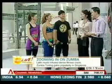 California Fitness ZUMBA Toning on AM