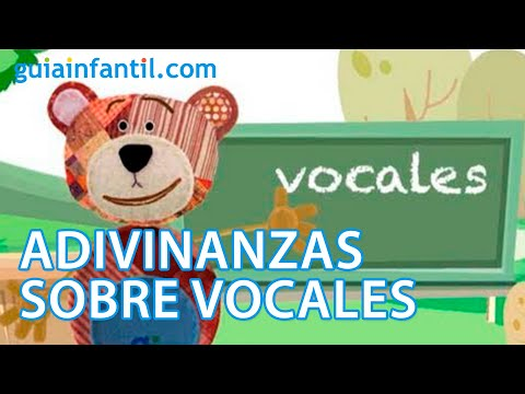 Adivinanzas para aprender las vocales