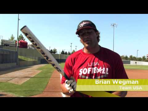 Brian Wegman Swings the Easton Synergy Tri-Zone Brian Wegman Slow Pitch Bat: SCN20BW- JustBats.com Video
