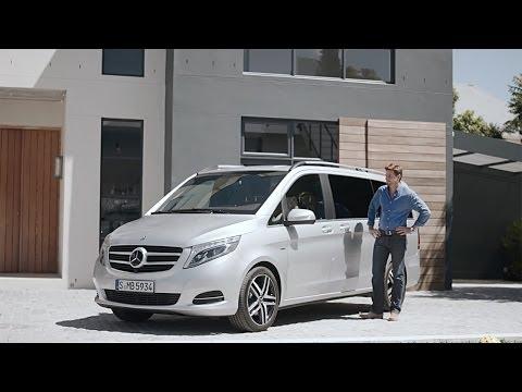 Autoperiskop.cz  – Výjimečný pohled na auta - Mercedes třídy V – první reklama a první ochutnávka
