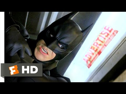 """Thumbnail image for 'Movies with the best train scenes: No. 4 - """"Batman Begins"""" fight scene'"""
