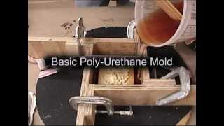 Mold Making and Casting: urethane mold process for candles, soap, plaster, or concrete view on youtube.com tube online.