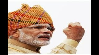 In Graphics: PM Modi flashes victory sign as BJP takes unassailable lead in Gujarat and Hi - ABPNEWSTV