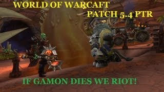 World of Warcraft Patch 5.4 PTR: How To Gain Golden Lotus Rep Update