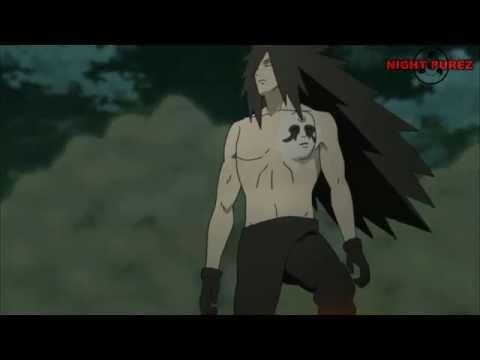 AMV Madara Uchiha vs. Naruto, Sasuke and Bijuu  - Anthem of the Lonely