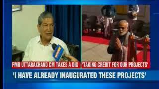 Rawat attacks Modi: Ex-Uttarakhand CM attacks PM's Kedarnath visit - NEWSXLIVE