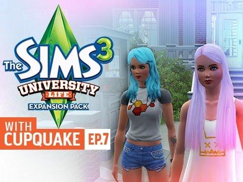 Sims 3 University Life Ep 7