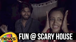 Vijay Devarakonda Fun With Anchor Suma At Scary House | #Taxiwala Telugu Movie | Mango News - MANGONEWS