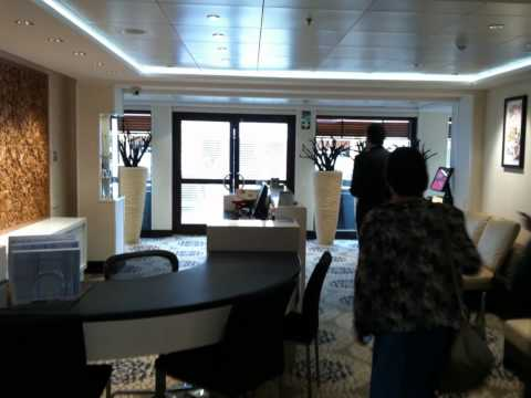 Video visita al buque de cruceros NCL EPIC