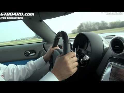 Koenigsegg Agera testdrive