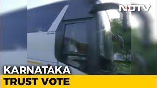 After 'Break', Team Congress-JDS Back In Bengaluru For Trust Vote - NDTV