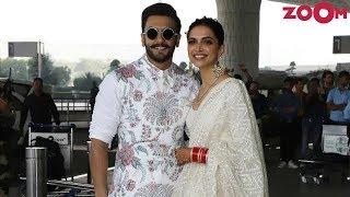 Ranveer Singh & Deepika Padukones CLASSY ELEGANT look | Style Today - ZOOMDEKHO