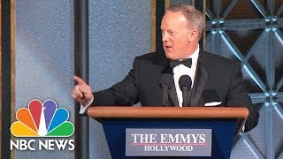 Sean Spicer Surprises Emmys Audience | NBC News - NBCNEWS