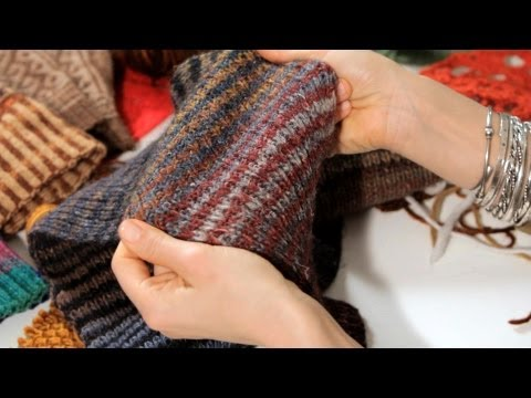 Basic Knitting Stitches for a Scarf | Knitting