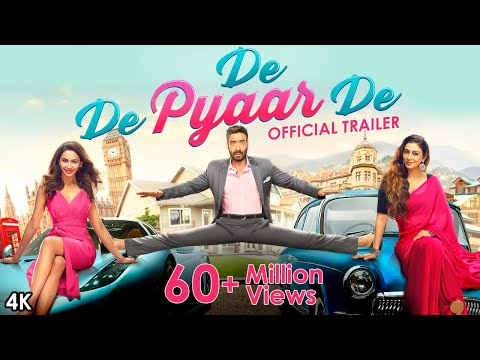 "<p><span>We present to you the official trailer of the upcoming Bollywood movie ""De De Pyaar De"".The movie De De Pyaar De is the joyous rom-com for all ages. The film is Directed by Akiv Ali and produced by Bhushan Kumar, Krishan Kumar, Luv Ranjan and Ankur Garg,</span></p>"