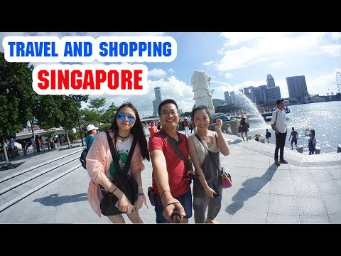 DU LỊCH SINGAPORE ▶ Trải nghiệm Thiên đường Mua sắm, cảnh đẹp, đường phố, ẩm thực của Quốc đảo Sư tử
