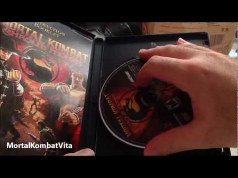Mortal Kombat Kollection factory sealed unboxing HD