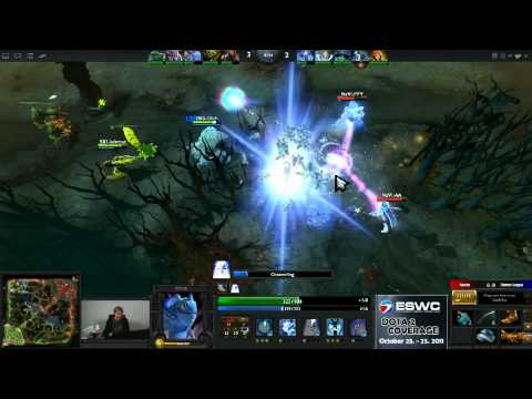 Dota 2 - ESWC Group Stage - BX3 vs Na'Vi