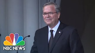 Jeb Bush On Mother Barbara Bush: She Was 'Our Role Model' | NBC News - NBCNEWS