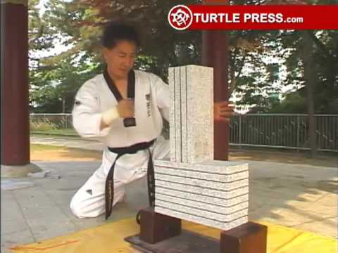 Patio Block Taekwondo Speed Break