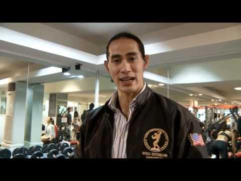 Binaraganet Video II : Back Exercise bersama Ade Rai Part II