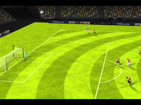 FIFA 14 iPhone/iPad - Hull City vs. Arsenal