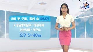 [날씨정보] 08월 04일 17시 발표