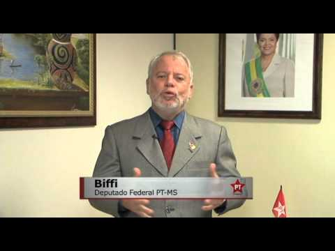 Brasilândia é PT: Deputado Biffi apoia José Diogo