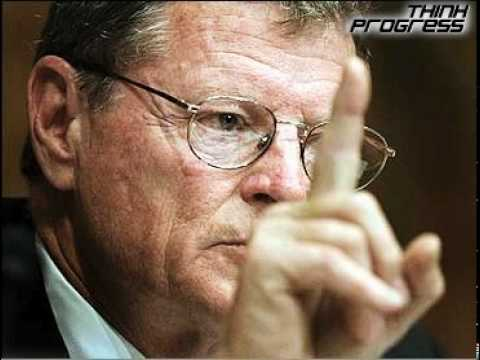 Inhofe: The Bible Says Global Warming Is A Hoax
