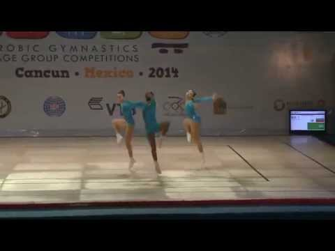 13th Aerobic Gymnastics World Championship Cancún 2014 Day 3 3