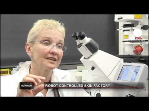 euronews science - Científicos alemanes sintetizan piel humana mecánicamente