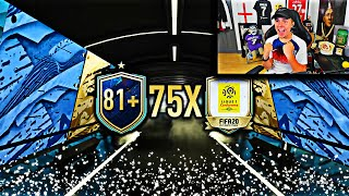 we PACKED 10x LIGUE 1 TOTSSF from 75x Ligue 1 Upgrades…