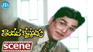 Tandava Krishnudu Movie Scenes - Nageshwar Rao Introduction || Jayapradha || Rajendra Prasad - IDREAMMOVIES