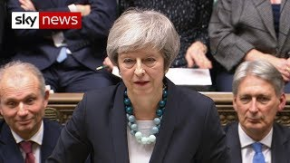 In full: Theresa May delays the vote on her Brexit deal - SKYNEWS
