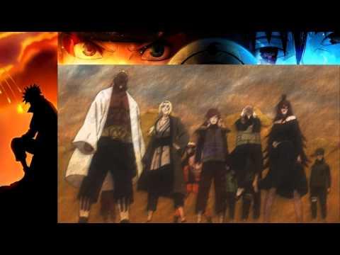 Madara Uchiha  vs  The Five Kage Gokage   Part 1 English Sub HD