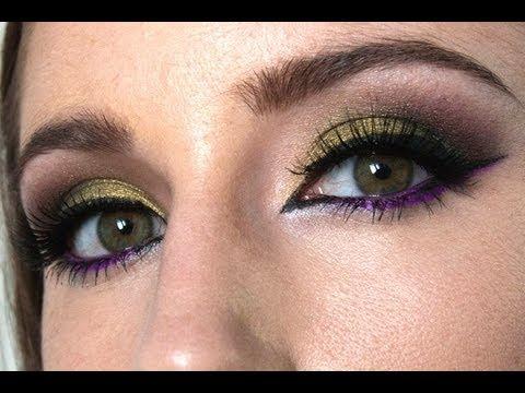 Maquillaje colorido   Maléfica